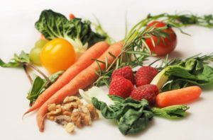 Veganske økologiske råvarer
