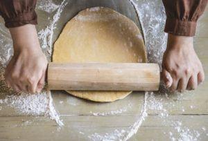 Bag lækker kvalitets brød